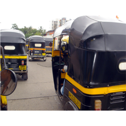PVC Coated Auto Rickshaw Hood Fabric