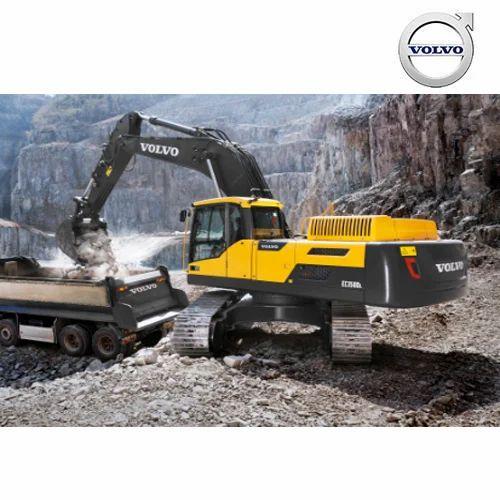 Hydraulic Excavators - Volvo Excavators - EC350DL Manufacturer from Bengaluru