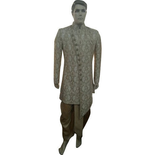 78e5a0f4d0 S And M Embroidered Mens Traditional Indo Western Sherwani Suit, Rs ...