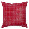 Cotton Yarn Dyed Cushion Cover, Size: 45x45 Cms