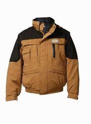 S M L XL 2XL 3XL 4XL Brown Penguin Skin - Weather Riding Jacket