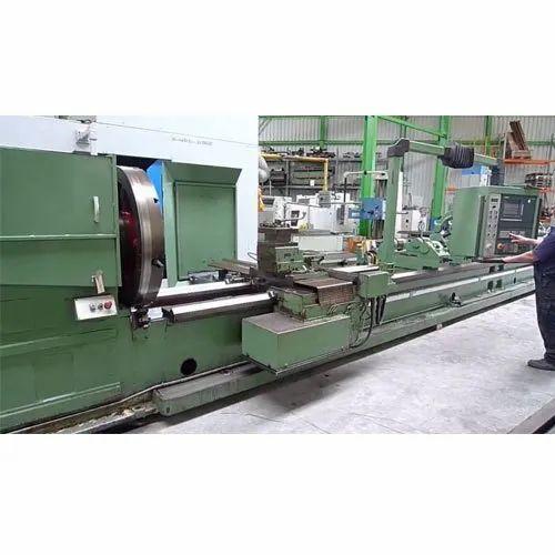 Semi-automatic CNC Lathe Machine, Electric
