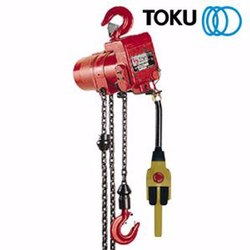 Toku Pneumatic Air Hoist Capacity 250Kg - 30000Kg