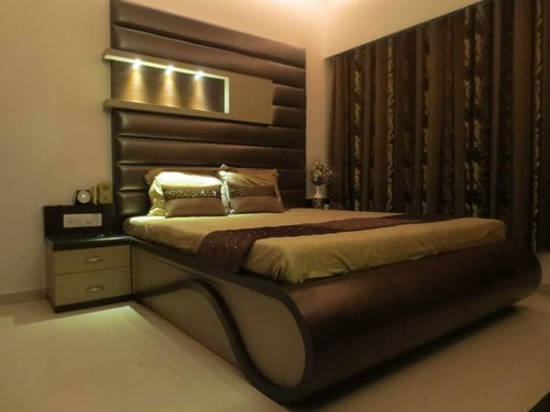 Bedroom Interior Bed Designing Service, Wood Work & Furniture