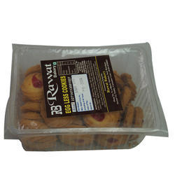 Rawat Bakery Jam Biscuit, Eggless: Yes
