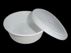 250 ml Moulded Round Plastic Food Container