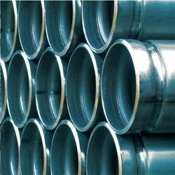 Black Grooved Steel Pipes