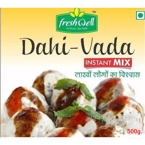 500 Gm Fresh Well Dahi Vada Instant Mix Rs 60 Packet Bhushan