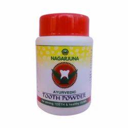 Nagarjuna Ayurvedic Tooth Powder, Pack Size: 50 Gm