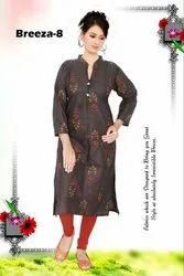 Printed Office Wear Kurti