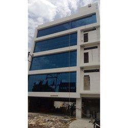Building Reflective Glass Glazing Work