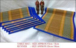 Handmade MADDUR Table MAt suits special occasions