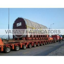 Stainless Steel Hydraulic Axle Modular Trailer