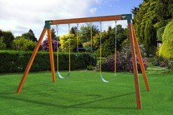 Kids Outdoor Metal Swing