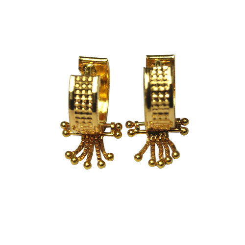 gold hearts gift yellow beautiful polished itm studs for s love is image earrings loading