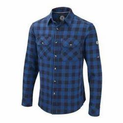 38.0 And 44.0 Check Mens Cotton Shirt