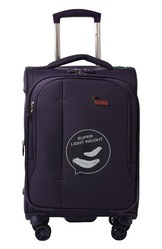 F Gear Aspire Polyester 63 cms Purple Softsided Cabin Luggage (2753), Size: 24 Inch