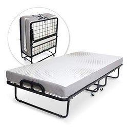 Extra Bed Folding Cot With Mattress Size 75x36x15 Rs 10500
