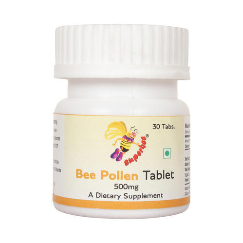 Superbee Bee Pollen Tablet 500mg (Pack of 30 tablets)