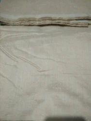 Handloom Tussar Muga Fabric