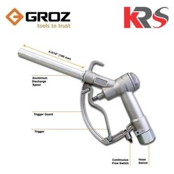GROZ Manual Fuel Nozzle