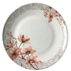 Melamine Printed Serving Plate