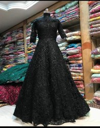Soft Net Designer Party Wear Gown