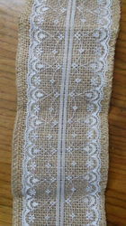 Jute Middle Lace Ribbon
