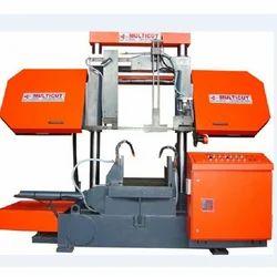 BDC-650 M Semi Automatic Double Column Band Saw Machine