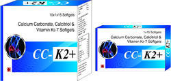 Calcium Carbonate Calcitriol and Vitamin K2-7 Softgels