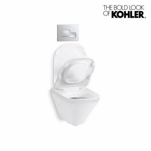 Admirable Kohler Modern Life Wall Hung Toilet Seat Machost Co Dining Chair Design Ideas Machostcouk