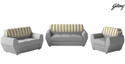 Designer Silver Series Sofa Set