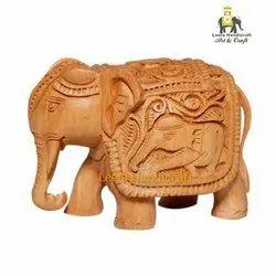 Wooden Designer Elephant Statue