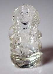 Natural Crystal Hanumanji Statue