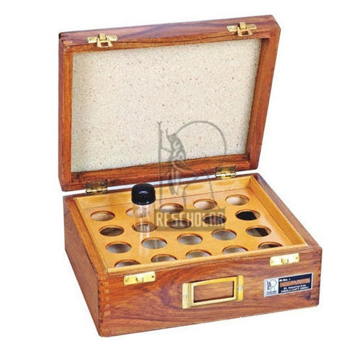 Wooden Box Insect Specimen Tube Box Manufacturer From Ambala