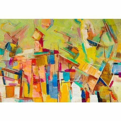 Naag Geometrical Abstract Paintings New Anjani Art Gallery Id 20674138762