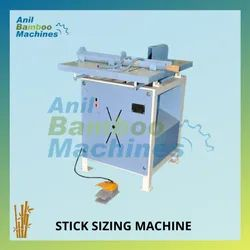 Semi-Automatic Bamboo Stick Sizing Machine
