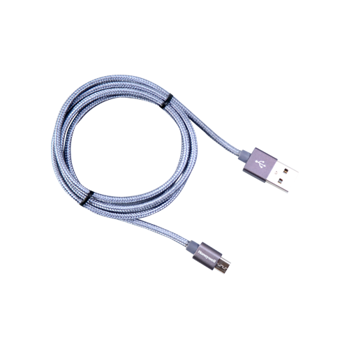 Gray Honeywell USB to Micro USB Cable 1Mtr - (Braided) - Grey, Warranty: 3 Year