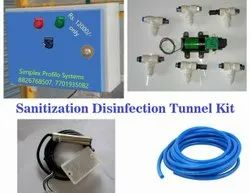 Disinfection Tunnel / Booth Kit for Sanitizer Machine