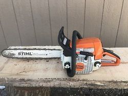 MS 250 Chainsaw With 20 inch