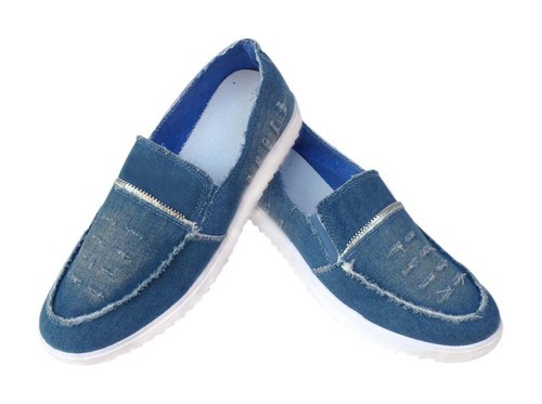 b73cf8a4d07 Light Blue   Dark Blue Morocco Men  s Very Stylish Light Blue Jeans Loafers