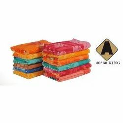 Cotton King Bath Towel, Weight: 450-550 GSM, Size: 30x60