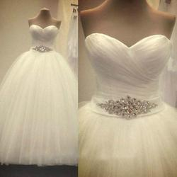 White Ivory Bridal Gown