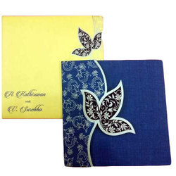 Blossoming Wedding Card