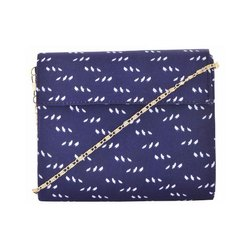 Azzra Blue Ethnic Designs WomenS Print Clutch