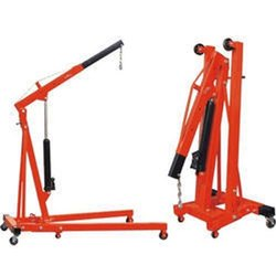 FOLDING TYPE HYD. FLOOR CRANE