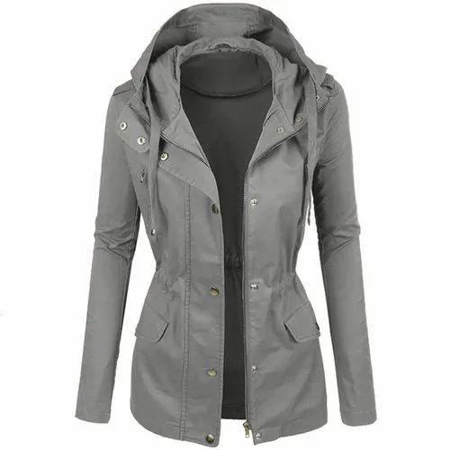 Polyester Women Ladies Fancy Winter, Fancy Winter Coats For Ladies
