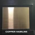 Copper Hairline Designer Sheet