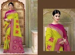 Reynolds Saree Launch Ekaya Silk Traditional Wear Party Wear Saree