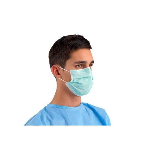 Green Face Mask Surgical Green Face Surgical